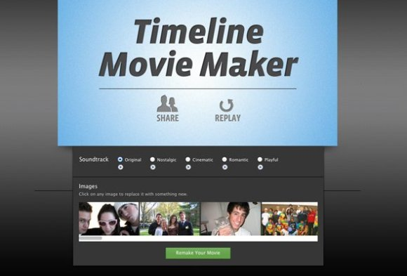 Edición en Timeline Movie Maker