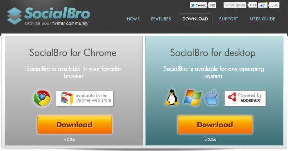 Descargar SocialBro