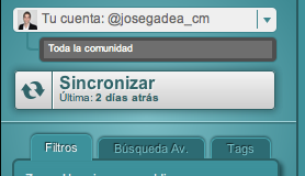 Sincronizar cuenta de Twitter con SocialBro