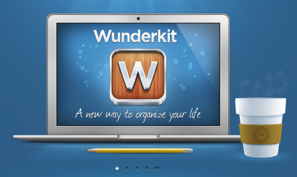 imagen web de wunderkit