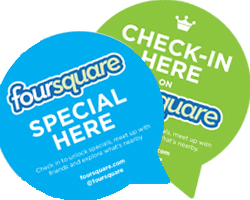 Ofertas especiales en Foursquare