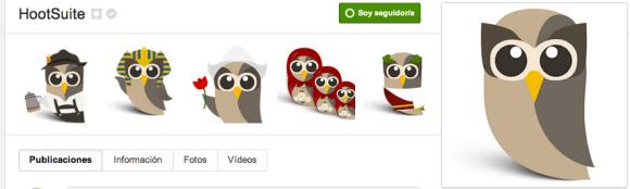 Google Plus de HootSuite