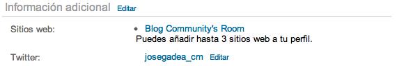 Añadir el Blog a LinkedIn