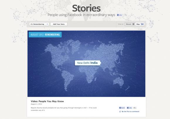 Facebook anuncia Facebook Stories