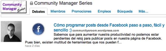 Publicar los artículos del blog en LinkedIn