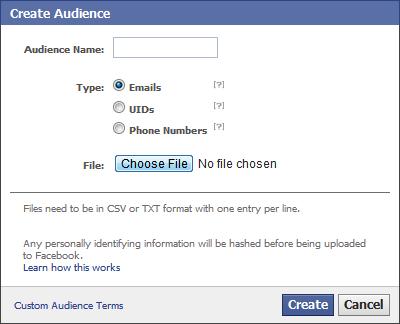Target de Facebook Ads