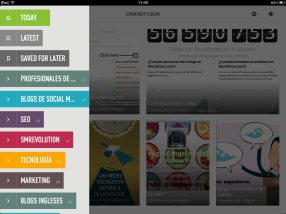 Feedly (iPad)