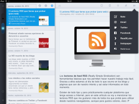 MobileRSS (iPad)